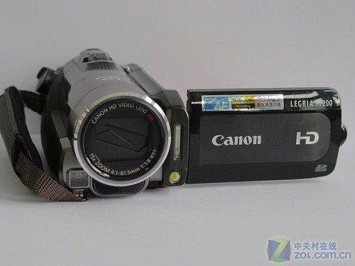 高清闪存摄像机 佳能HF200新春促销