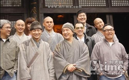 《新少林寺》火热拍摄 刘德华剃头出演复仇僧图片