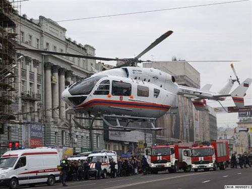 出动直升机
