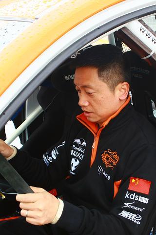图为FCACA车队的主力中国车手王睿