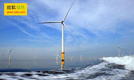 西门子风电场将有助英国绿色能源计划的实施