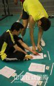 图文:中国男排首次公开训练 观看训练计划
