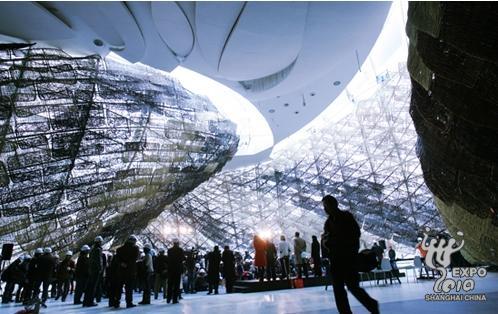上海世博会西班牙国家馆亮相图片