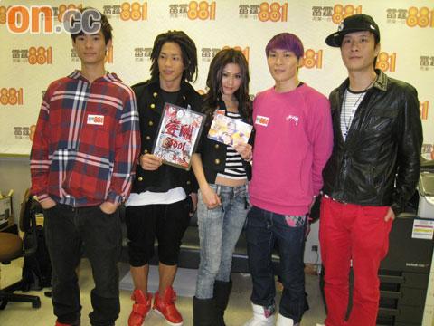周秀娜跟Bro5成员学跳舞,被赞有潜质