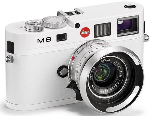 天价收藏首选 徕卡M8白色限量版68000元