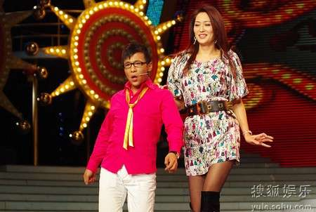 超级模特组合--宋小宝、孟广美