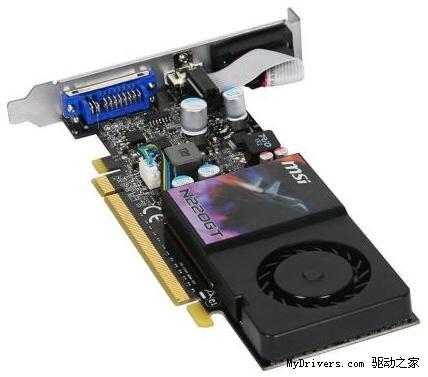 微星刀版GeForce GT 220实物、规格曝光