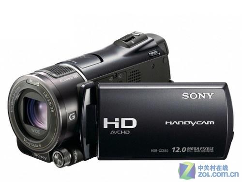 G镜头高清闪存DV 索尼CX550E带包10389元