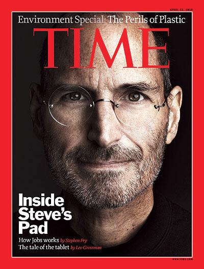 乔布斯第七次登上《时代周刊》封面