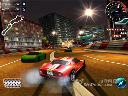 赛车游戏《Asphalt 5》截图