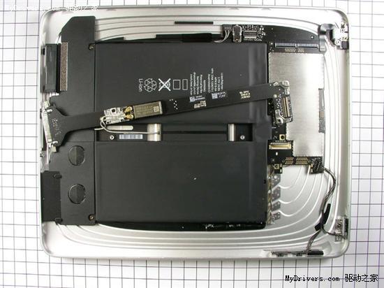 苹果iPad拆解提前曝光