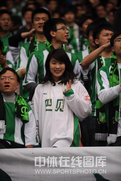 杭州美女球迷