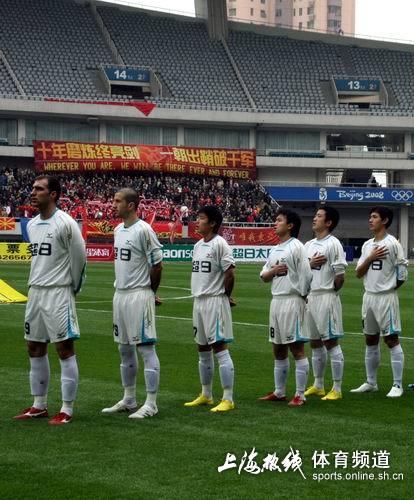 图文:[中甲]东亚2-0日之泉 外援国脚首发