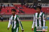 图文:[中超]杭州1-1长沙 杜威遗憾不已