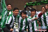 图文:[中超]杭州1-1长沙 绿城忠实球迷