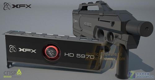 打残GTX480,XFX讯景5970双核黑版发布