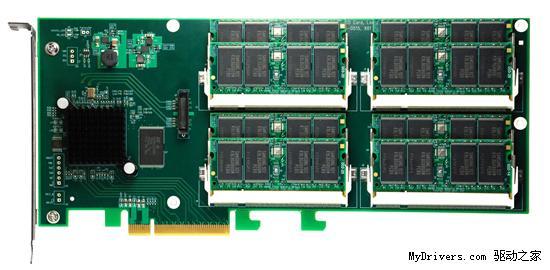每秒1.4GB读写 OCZ新PCI-E固态硬盘发布