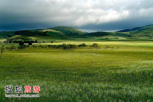 承德围场坝上草原和内蒙辉腾锡勒草原