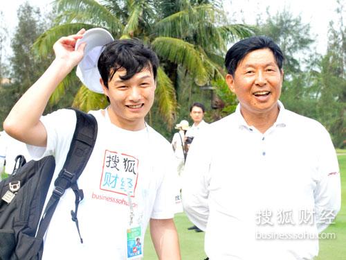 搜狐财经专访中国远洋运输(集团)总公司总裁魏家福