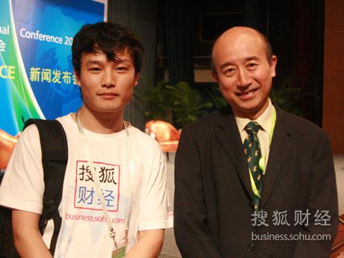 搜狐财经专访博鳌亚洲论坛秘书处高级总监姚望