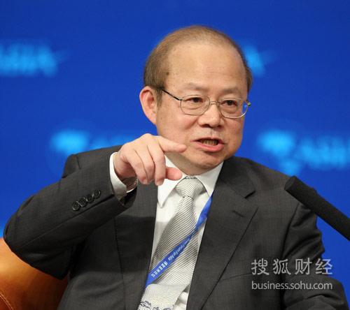 台湾证券交易所董事长薛琦(来源:搜狐财经 唐怡民 摄)