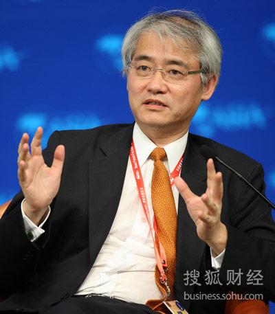 美银美林中国区行政总裁刘二飞(来源:搜狐财经 唐怡民 摄)