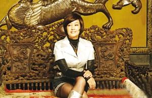刘晓庆在发布会现场