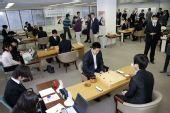 图文:富士通杯首轮东京开战 首轮比赛大厅场景