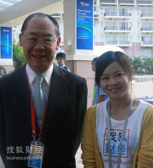 搜狐财经专访台湾两岸共同市场基金会最高顾问钱复