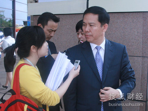 搜狐财经专访中国东方航空集团公司总经理刘绍勇