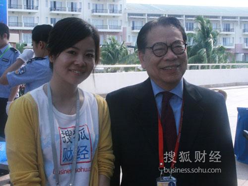 搜狐财经专访澳门基金会主席吴荣格