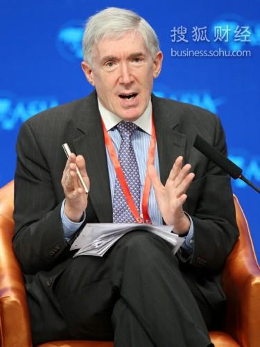 美国副国务卿罗伯特・霍尔迈茨(来源:搜狐财经 唐怡民 摄)