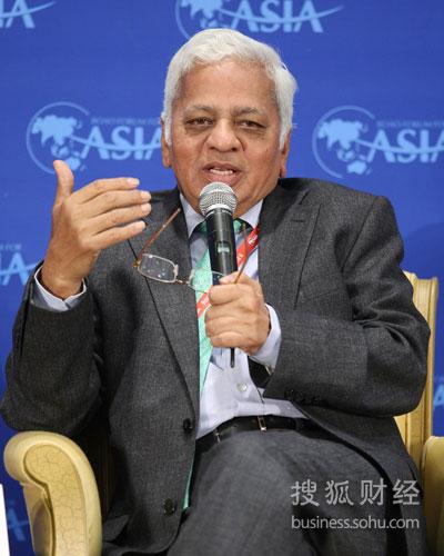 塔塔国际董事长Muthuraman(图片来源:搜狐财经 唐怡民