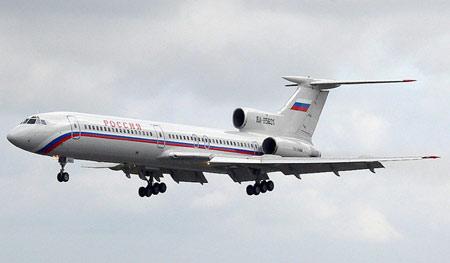 失事飞机图-154中型客机