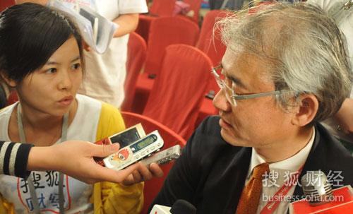 搜狐财经专访美国银行和美林集团中国区主席刘二飞