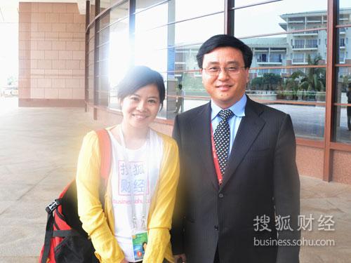 搜狐财经专访微软公司全球副总裁、微软中国研发集团总裁张亚勤