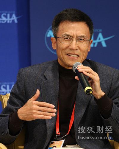 中欧工商管理学院教授许小年(图片来源:搜狐财经 唐怡民/摄)