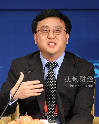 微软公司全球资深副总裁张亚勤(图片来源:搜狐财经 唐怡民/摄)