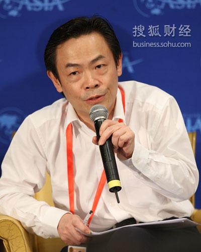 远大空调总裁张跃(图片来源:搜狐财经 唐怡民/摄)