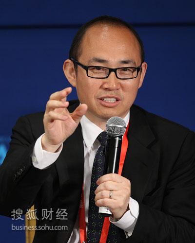 SOHO中国有限公司董事长潘石屹(来源:搜狐财经 唐怡民摄)