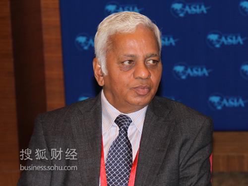 印度钢铁大王塔塔钢铁董事长B Muthuraman