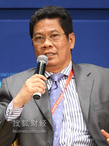 印尼国家银行首席执行官穆汀托罗(来源:搜狐财经 唐怡民 摄)
