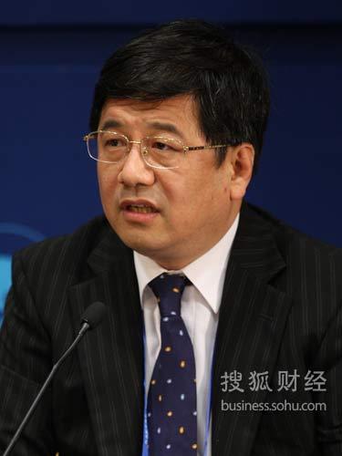 中国财政部国际司司长郑晓松(来源:搜狐财经 唐怡民 摄)