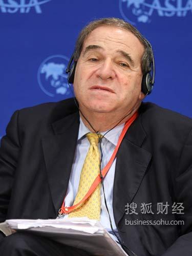 瑞银投资银行全球副主席(来源:搜狐财经 唐怡民 摄)