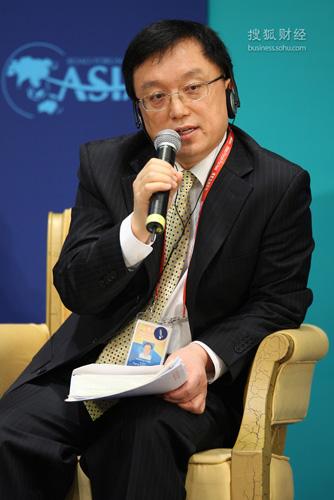 大公国际资信评估有限公司董事长,总裁(来源:搜狐财经 唐怡民 摄)
