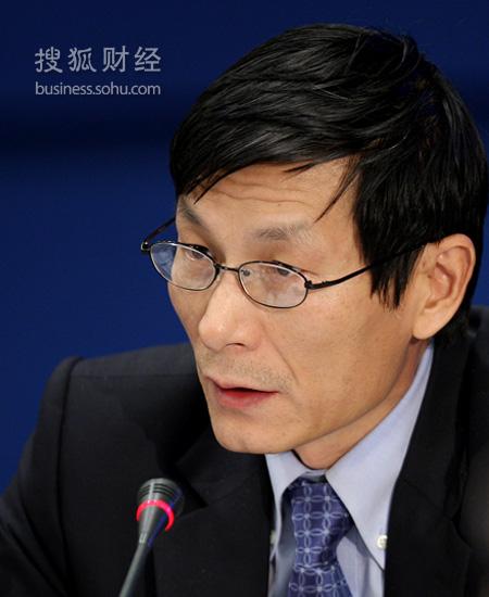 中国国际金融有限公司总裁朱云来 (来源:搜狐财经 唐怡民 摄)