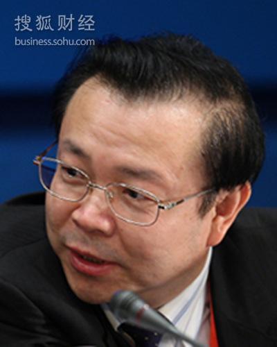 华融总裁赖小民 (来源:搜狐财经 唐怡民 摄)