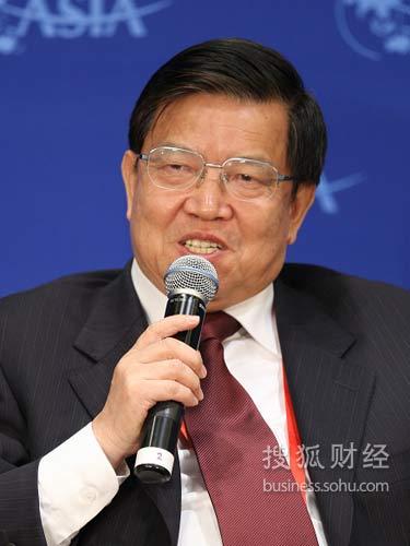 博鳌亚洲论坛秘书长龙永图(来源:搜狐财经 唐怡民 摄)