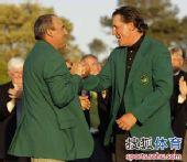 图文:2010美国名人赛决赛 祝贺老米夺冠
