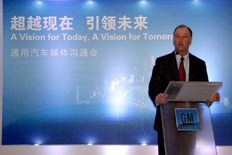 通用中国总裁兼总经理甘文维先生